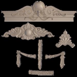 Poliüretan Süslemeleri Dekoratif Ürünler