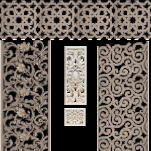 Poliüretan Dekoratif Panel Süsleme Ürünleri
