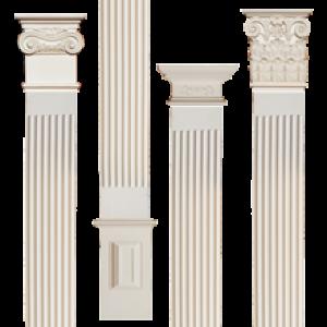 Poliüretan Pilaster Sütun, Sütun başlıkları, Sütun ayağı Modelleri